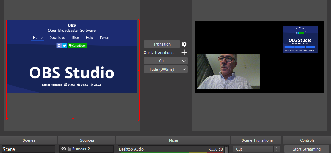 Build your own streaming studio with OBS