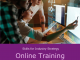 Skills for industry, Online training