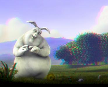 3D Big Buck Bunny
