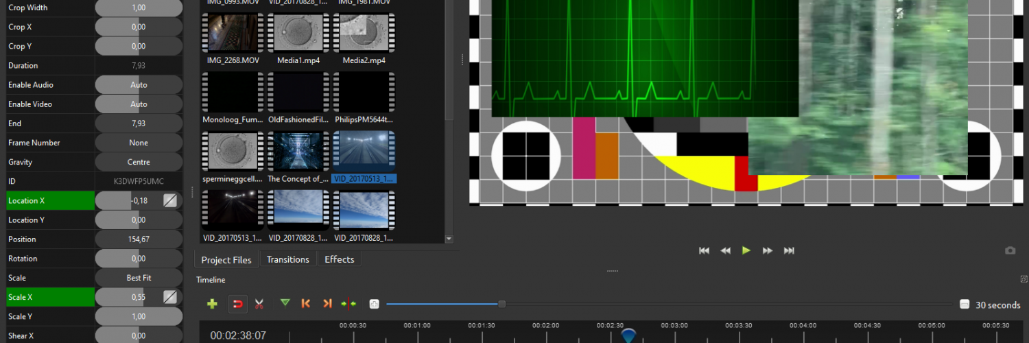 OpenShot, a free and open source entry level video editor