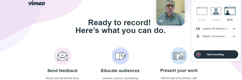 Vimeo Record